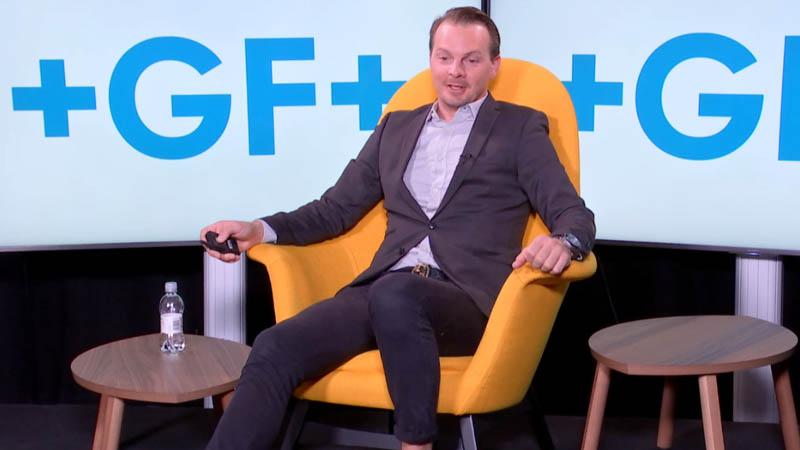 Riku Tuomainen, Georg Fischer AB