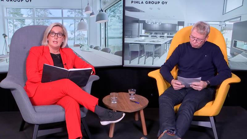 Timo Nissinen ja Minna Keränen, Pihla Oy