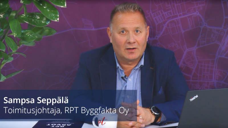 Sampsa Seppälä, RPT Byggfakta Oy